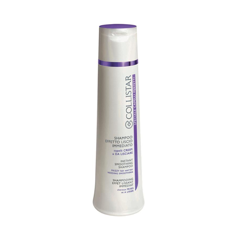 ... lo shampoo Effetto Liscio Immediato districa i capelli ed elimina l'effetto crespo...