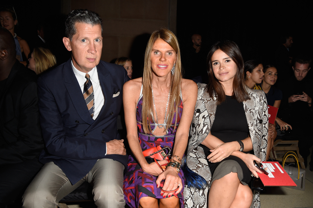 Front Row: essere in prima linea. #streetstyle PFW september 2014