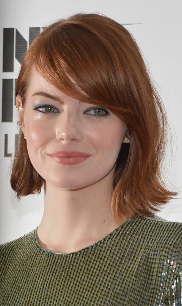Il rosso rame dei capelli di Emma Stone è naturale e bellissimo...