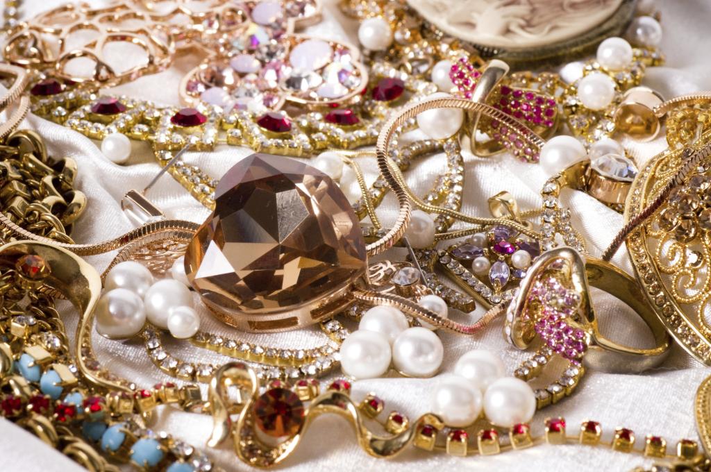 Pulire gioielli d'oro