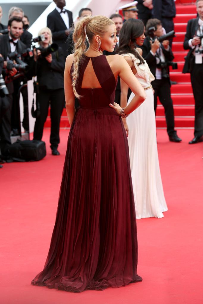 Abito indossato da Blake Lively sul red carpet del Festival a Cannes, retro