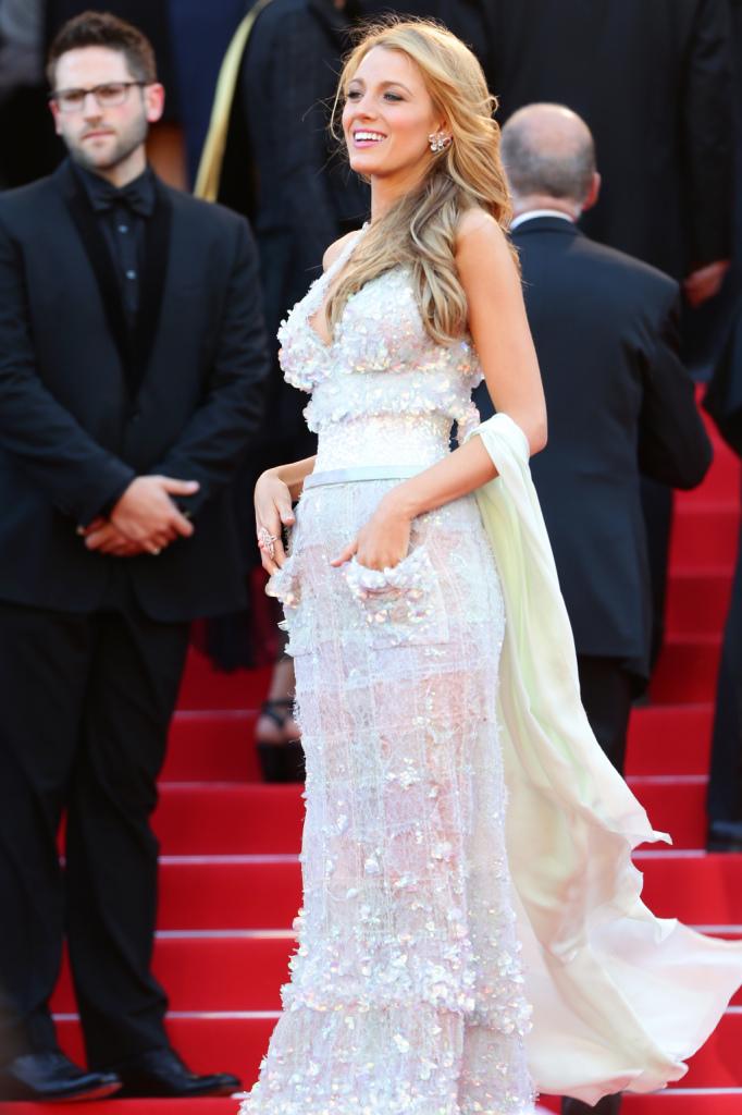 Mise incantevole di Blake Lively al Festival di Cannes