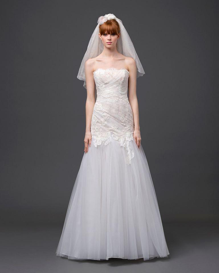 Collezione Alberta Ferretti Forever, abito da sposa modello sirena