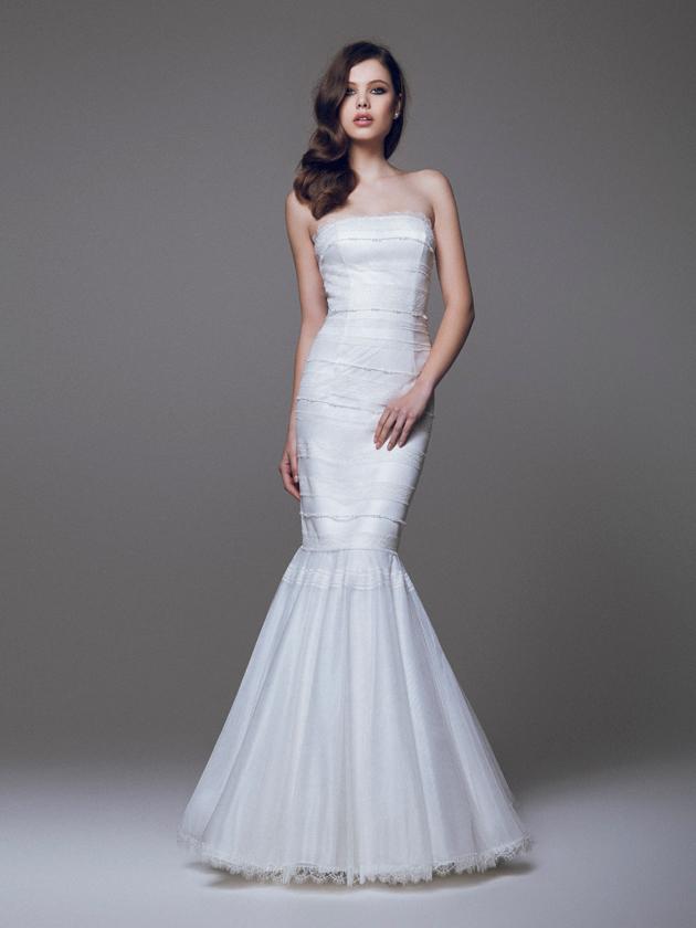 Blumarine Bridal e gli abiti da sposa a sirena collezione 2015