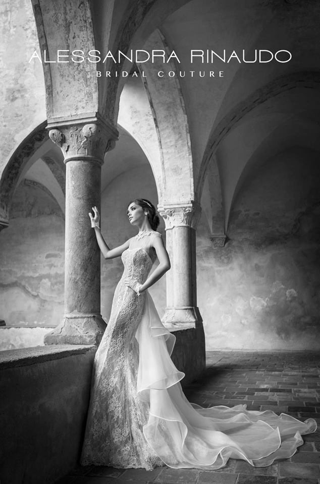 Bridal Couture by Alessandra Rinaudo, abito stile sirena
