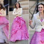 Blair Waldorf indossa abito Oscar de la Renta