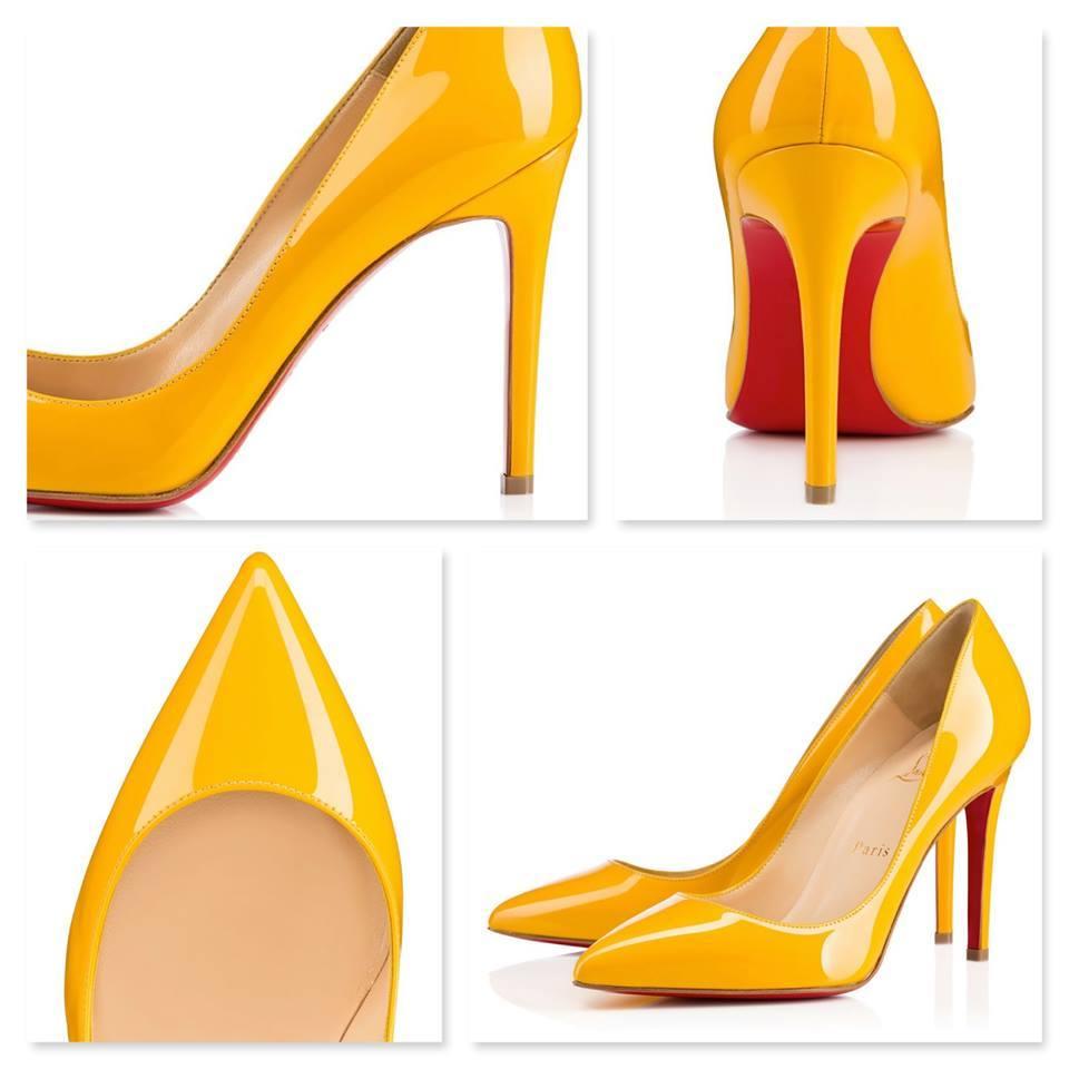 Scarpe da sposa gialle perfette per matrimonio in agriturismo, ecco la versione di Christian Louboutin