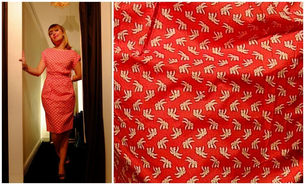 Lilac Rose: e quest'abito color salmone con palme applicate? Un tuffo nelle spiagge assolate degli anni Cinquanta/Sessanta!