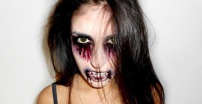 Make up vampira Halloween 2014