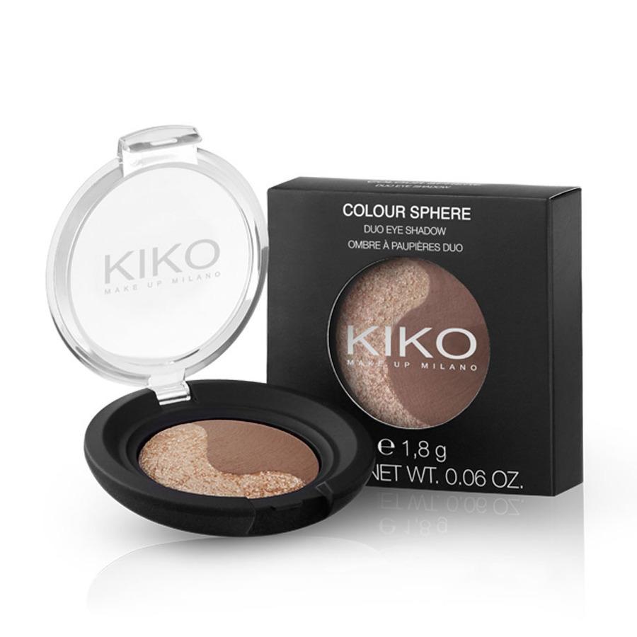 ... così come con il duo di ombretti Kiko Colour Sphere Duo Mat&Pearly Eyeshadow