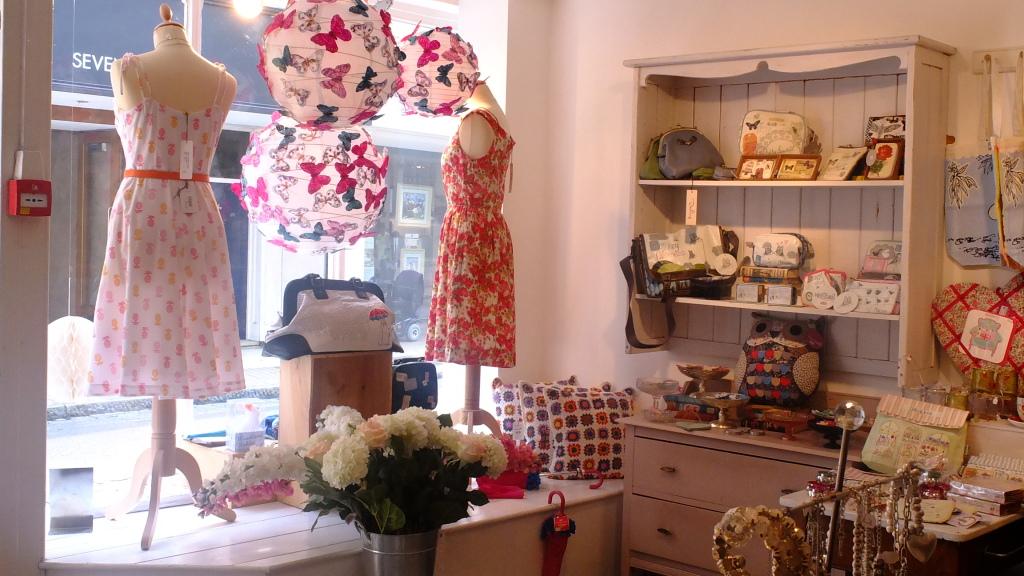 La prima boutique è Lilac Rose, in una delle vie storiche più antiche di Cambridge, Bridge Street