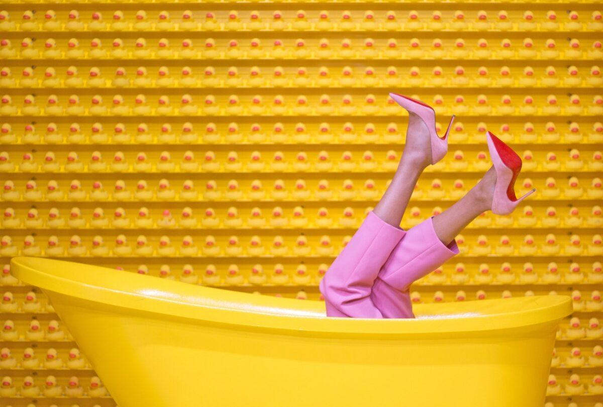 La collezione fall/winter 2014-2015 di Christian Louboutin: color power
