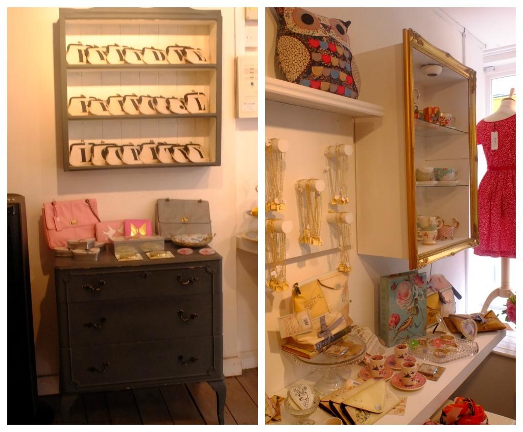 Lilac Rose: all'interno della boutique puoi trovare anche una grande varietà di accessori, dalle clutch ai portafogli, dalle collane alle porcellane