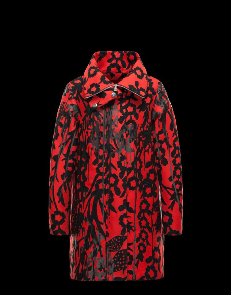 MONCLER GAMME ROUGE, piumino bicolor