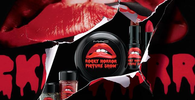 Per celebrare i 40 anni di The Rocky Horror Show Mac Cosmetics lancia una limited edition dedicata al celebre musical