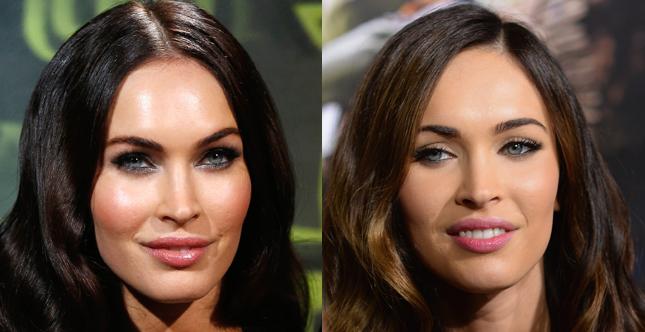 Naturale o da femme fatale, il make up di Megan Fox mette sempre in risalto la grande bellezza dell'attrice