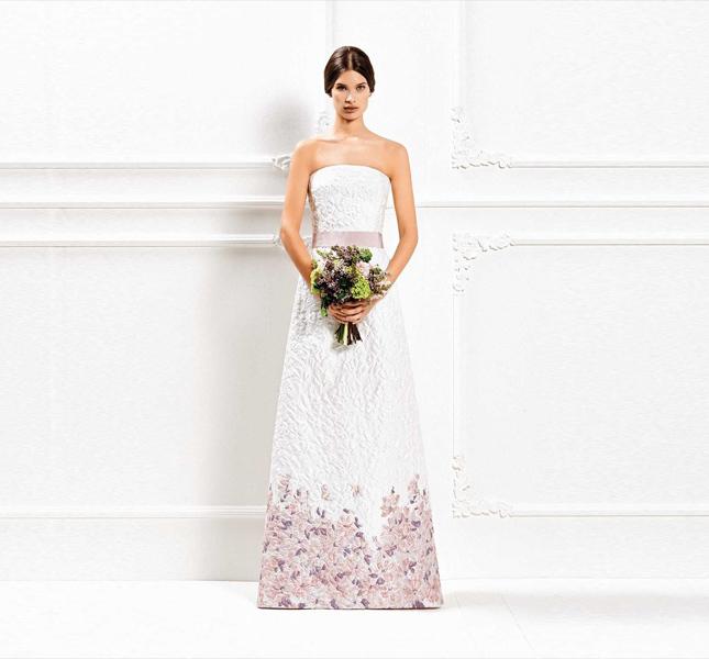 Proposta con colore per l'abito Max Mara bridal 2015.