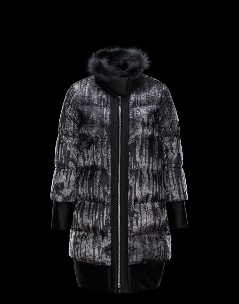 Moncler piumino lungo Gamme Rouge