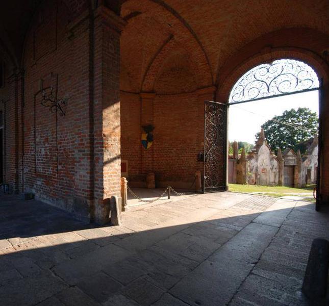 Rocca Brivio entrata principale