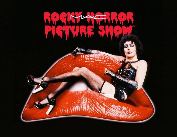 The Rocky Horror Picture Show e MAC insieme per una collezione... spregiudicata