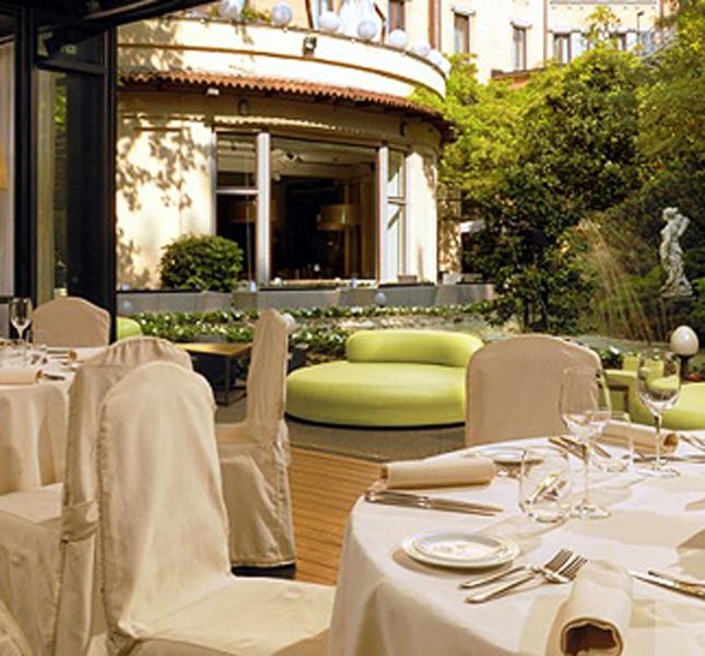 Hotel Sheraton Diana Majestic, dettaglio.