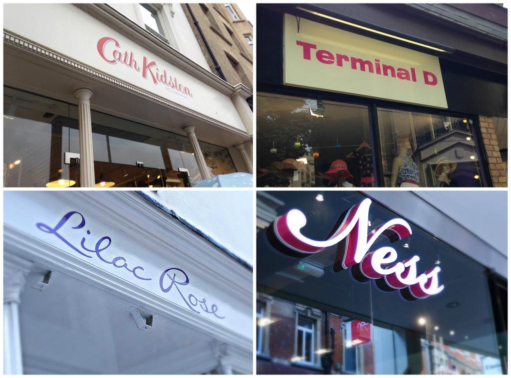 Le quattro boutique che a Cambridge ci hanno fatto sognare: Lilac Rose, Terminal D, Cath Kidston e Ness Clothing