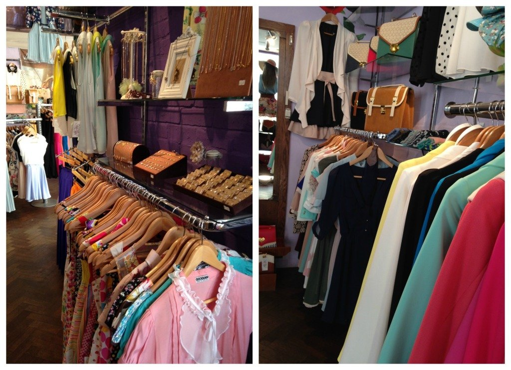 Terminal D, abbigliamento: dalle camicette alle lunghe gonne plissettate, la boutique propone uno stile retro-bon ton tutto da scoprire