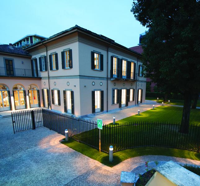 Esterno villa Campari