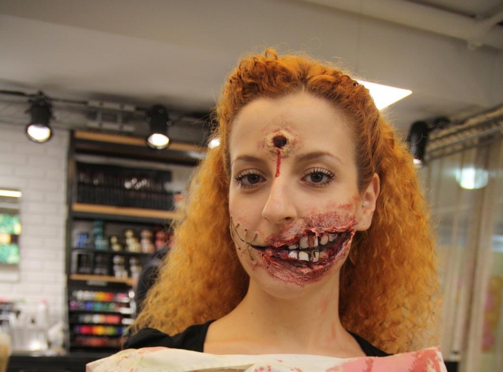 Il Trucco Zombie di Make Up Forever