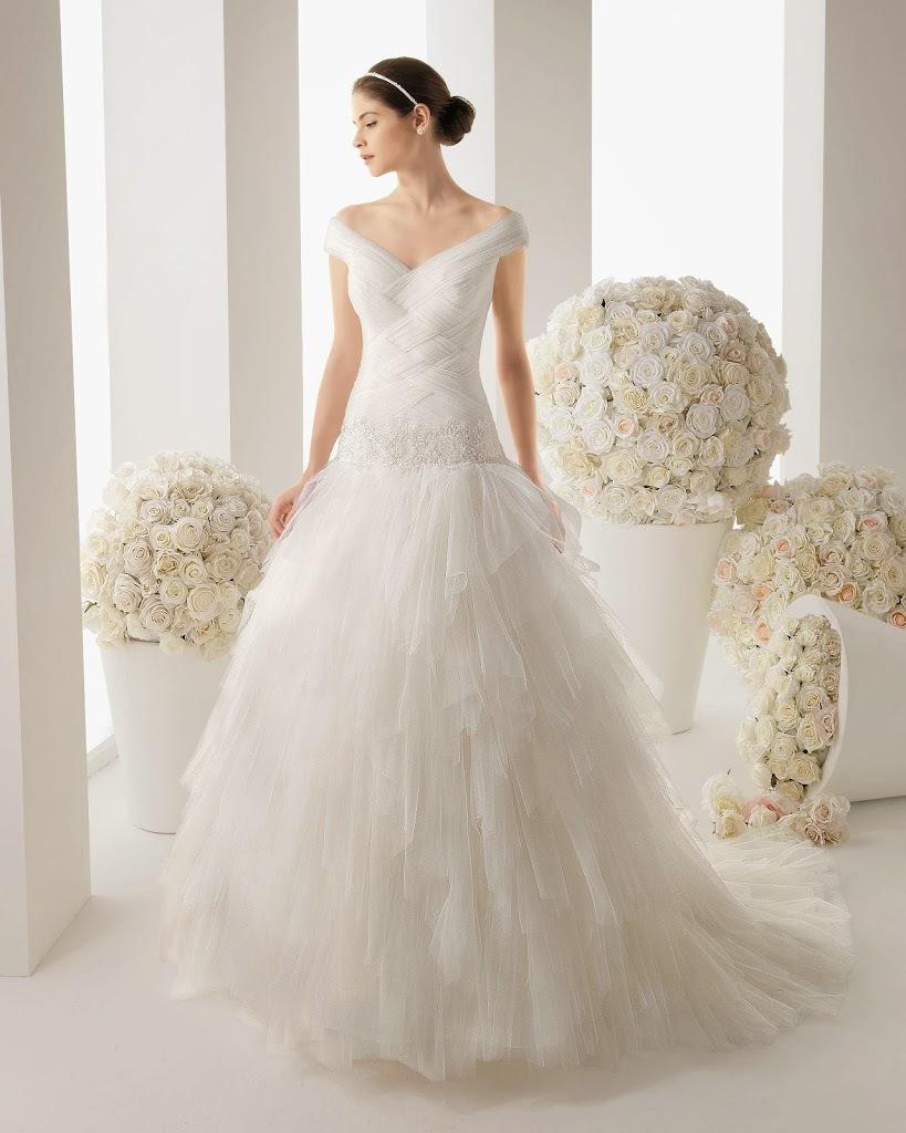 abito da sposa collezione 2014 Rosa-Clara modello matisse