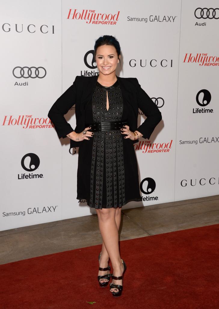 Demi Lovato in Louboutin