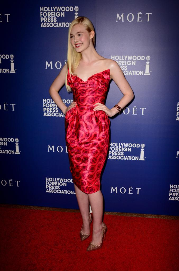 Hollywood e Louboutin, un amore confermato anche dalle giovani attrici come Elle Fanning