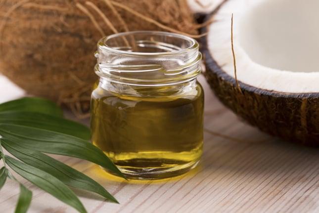 olio di cocco nutriente