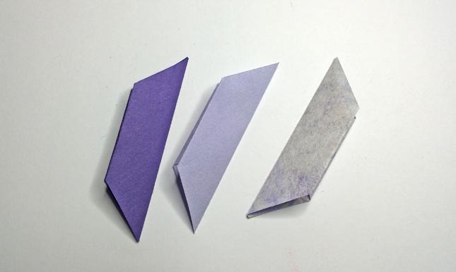 origami fiore step 5