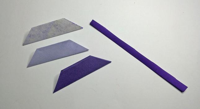 origami fiore step 6