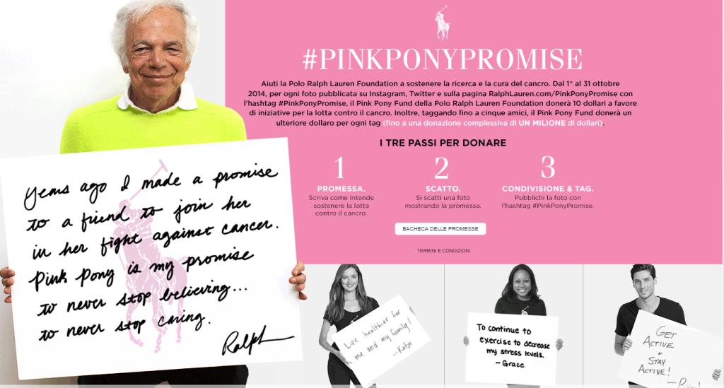 La moda non è solo frivolezza: la Ralph Lauren Foundation sostiene la lotta al cancro