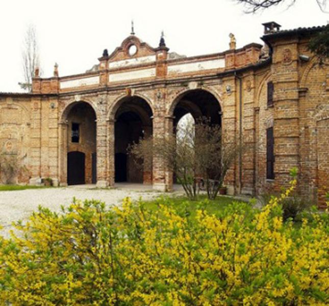 Rocca Brivio Sforza, corte interna.