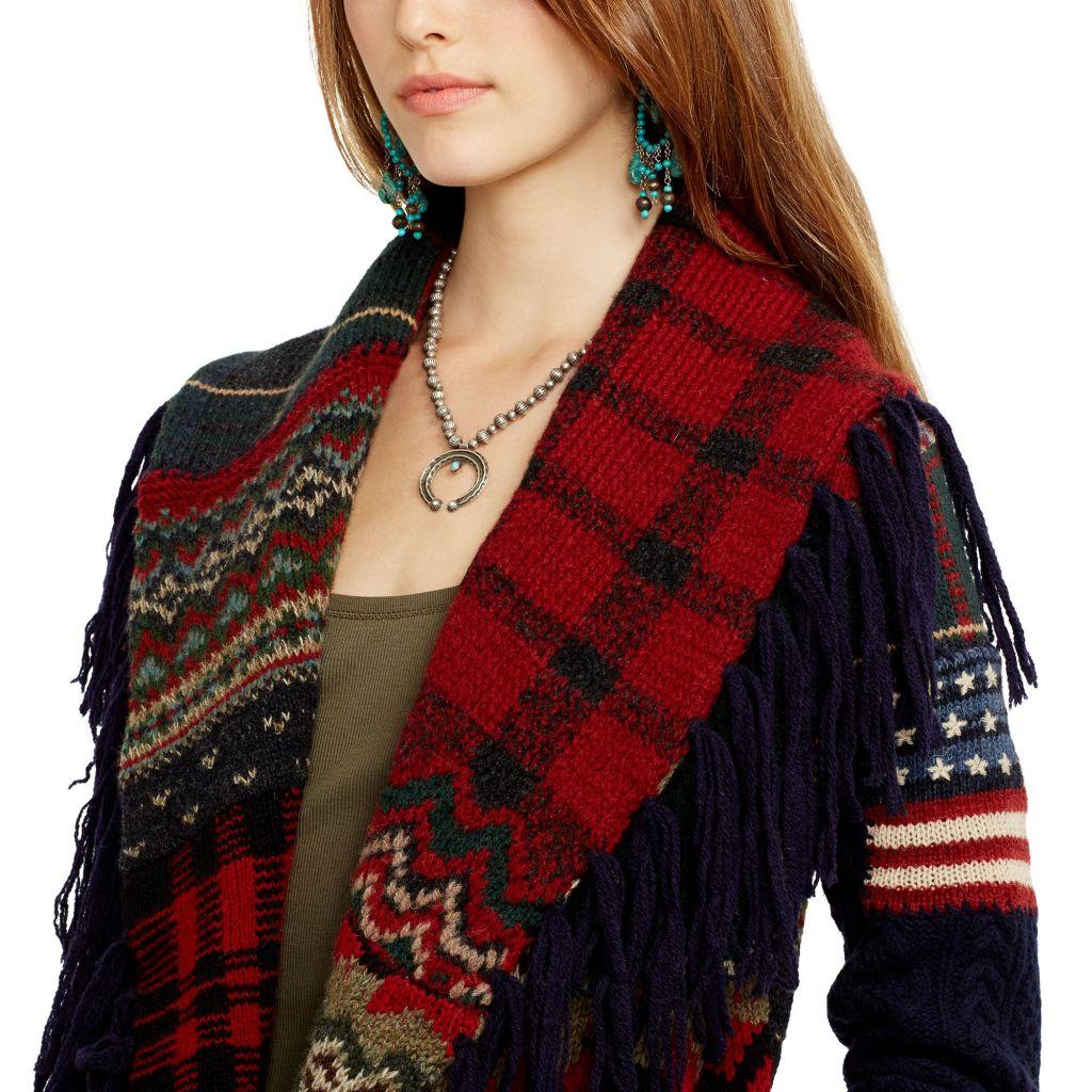 Un indimenticabile patchwork in misto lana: una coccola per affrontare l'inverno avvolti dal colore