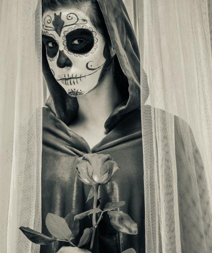 Facile da realizzare, il costume da scheletro non passa mai di moda