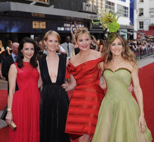 Il cast di Sex and The City a Londra per il red carpet della premiere del film