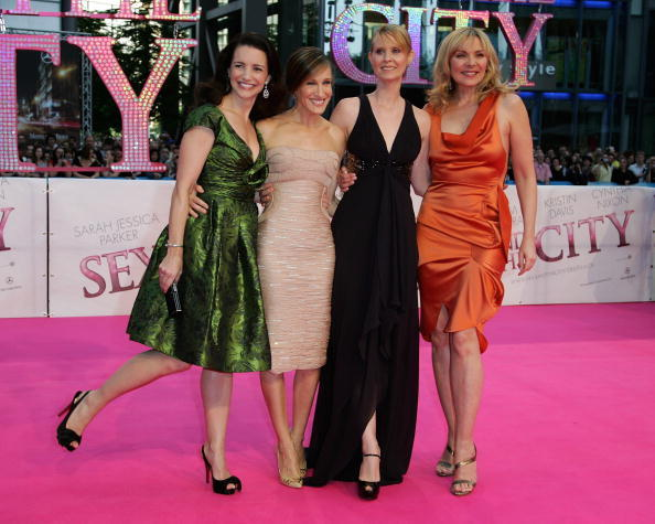 Le protagoniste di Sex and The City alla premiere del primo film a Berlino