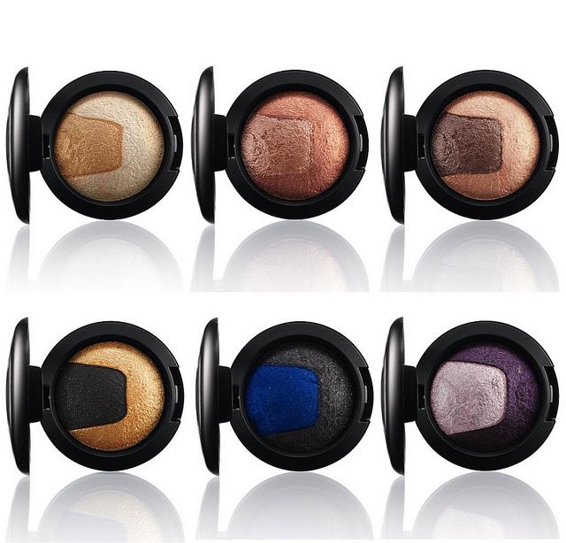 ... così come Mac Cosmetics Divine Night Mineralize Eyeshadow nelle tonalità Exquisite Ego e Until Dawn...