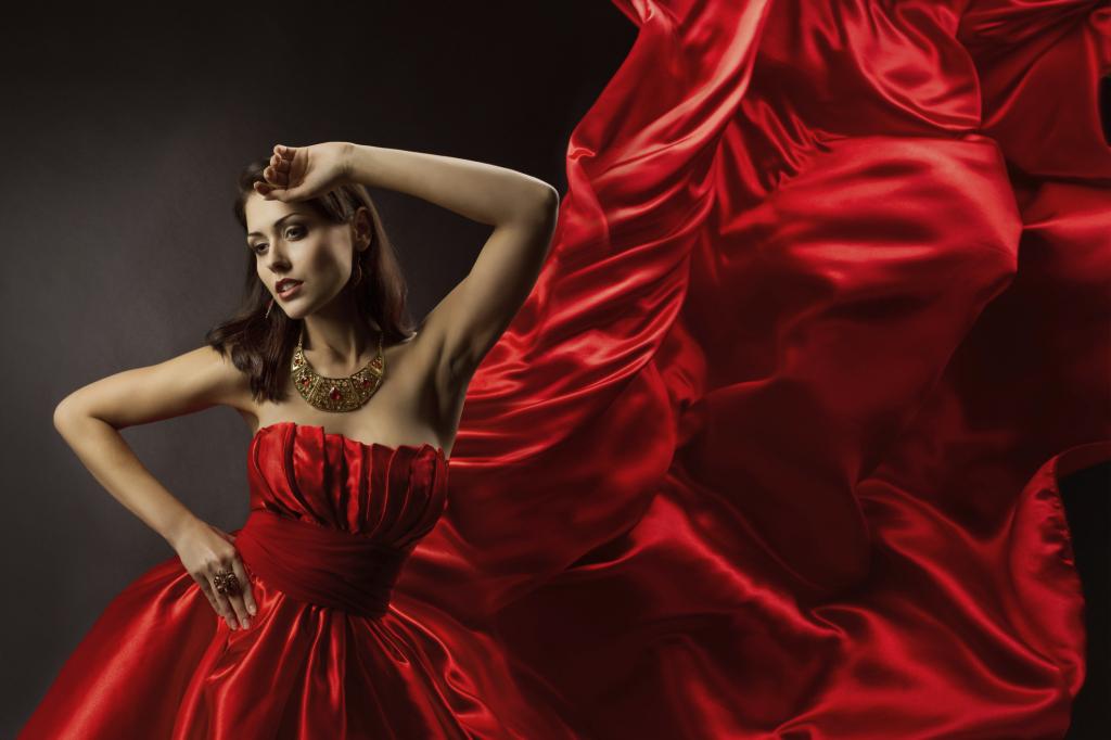 Vestiti da sposa rossi