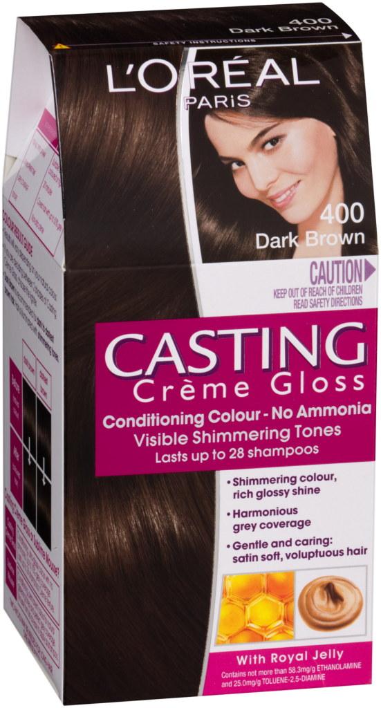 L'Oréal Paris Casting Crème Gloss è ideale per ritoccare il colore nella zona all'attaccatura dei capelli