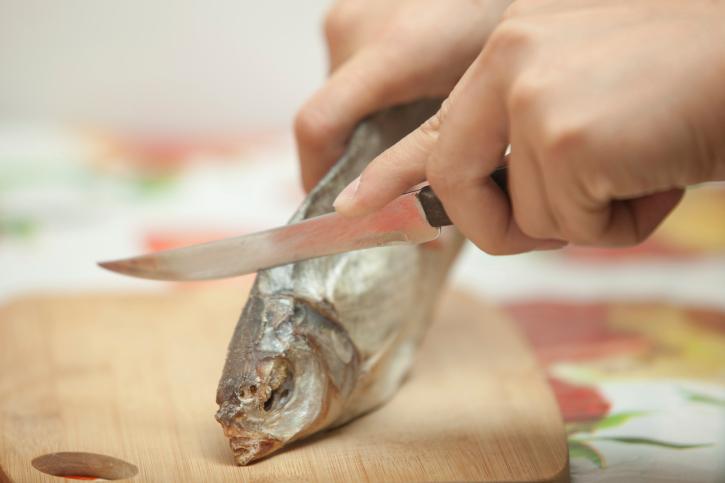 Desquamare pesce