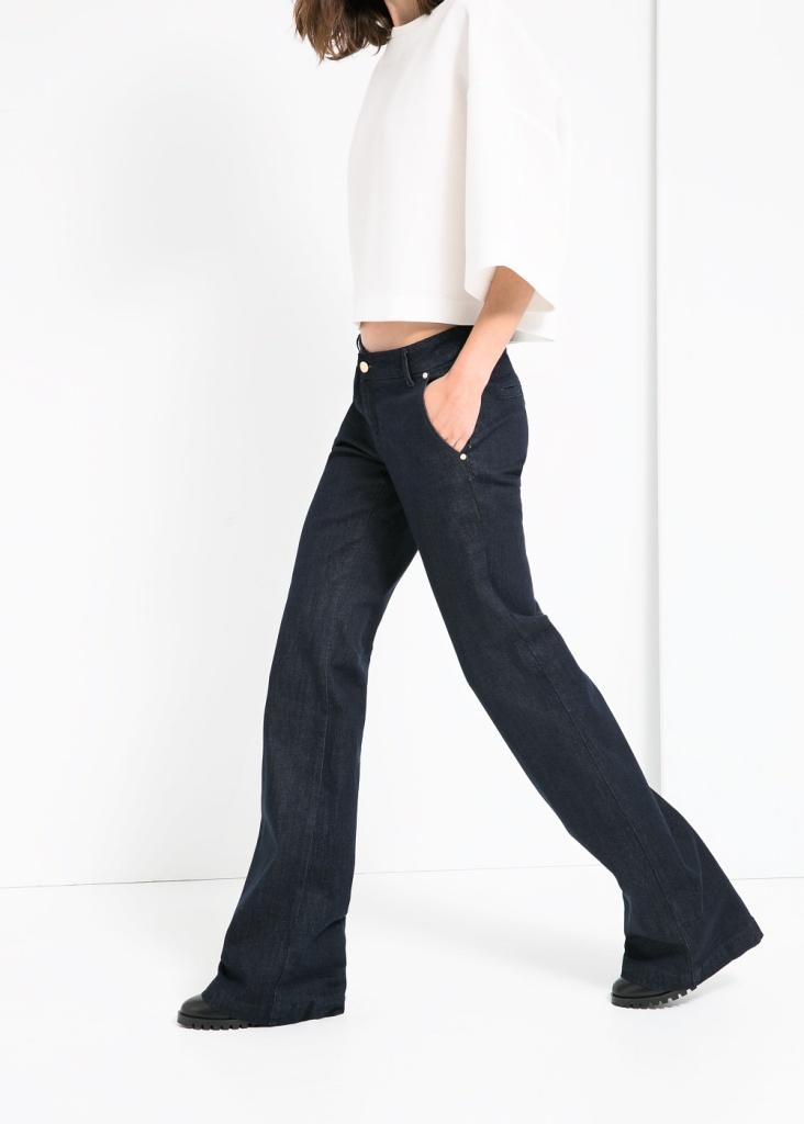 L'Autunno/Inverno di Mango? Ovviamente con i jeans flare!