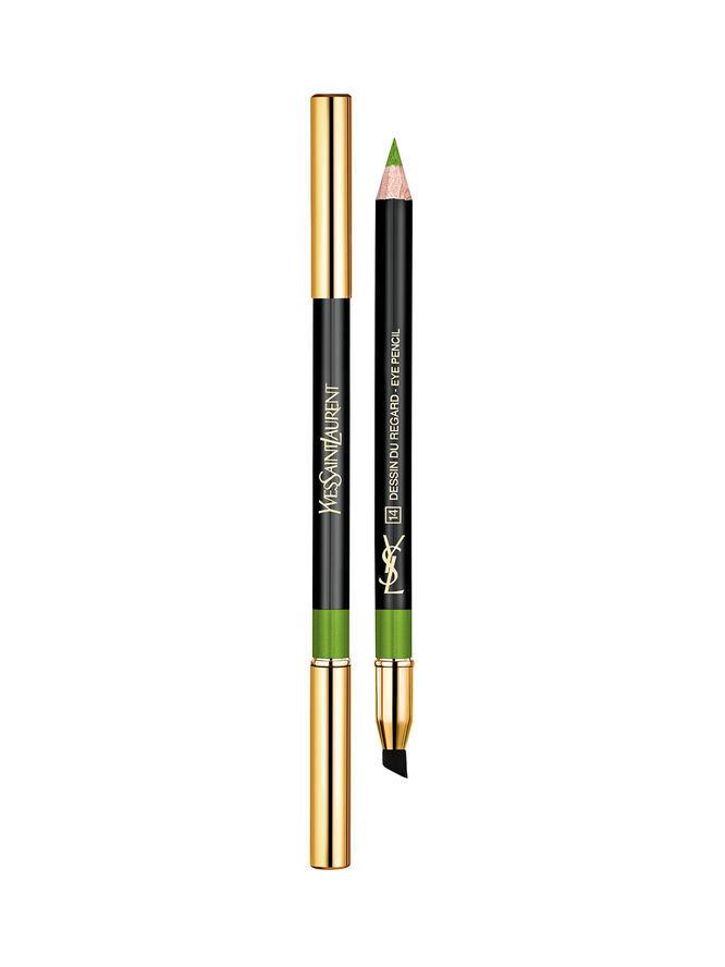 ... da copiare con la matita Yves Saint Laurent Dessin Du Regard nella tonalità 14 Excentric Green...