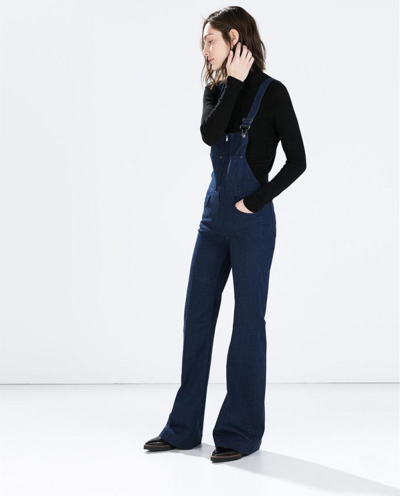 Un modello a zampa dalla collezione FW 2014/15 di Zara