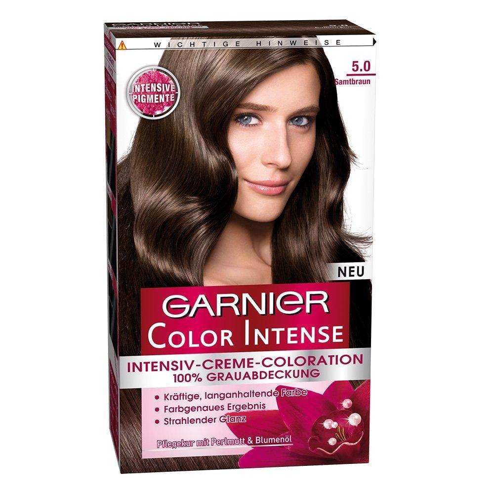 Garnier Color Intense nasconde i capelli bianchi e uniforma la tinta nera