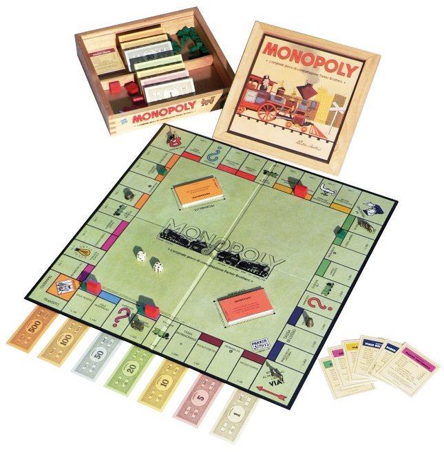 Edizione Speciale di Monopoly - Monopoly Nostalgia di Hasbro - su Amazon a 39.80 Euro